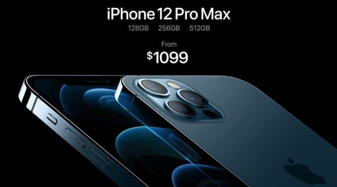 iphone 12 pro max qiymeti