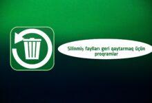 Photo of Silinmiş fayllari geri qaytarmaq üçün proqram YÜKLƏ [2021]
