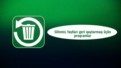 Photo of Silinmiş sekilleri geri qaytarmaq üçün proqram YÜKLƏ [2021]